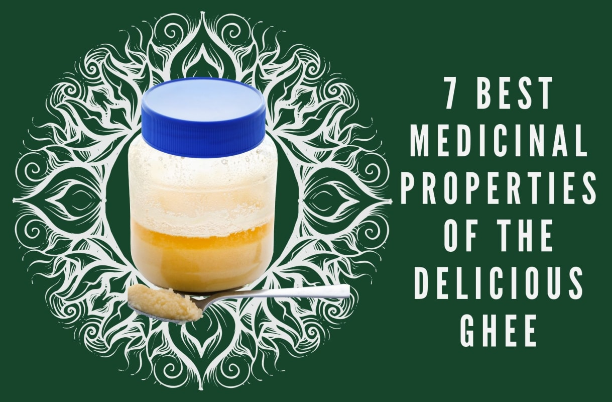 7 best medicinal properties of the delicious Ghee